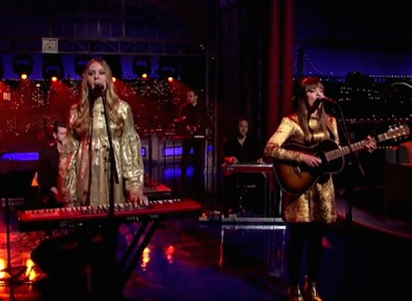 "First Aid Kit ""My Silver Lining"" (live on 'Letterman')"