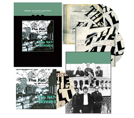The Fall Give <i>This Nation's Saving Grace</i> Triple-Disc Deluxe Reissue