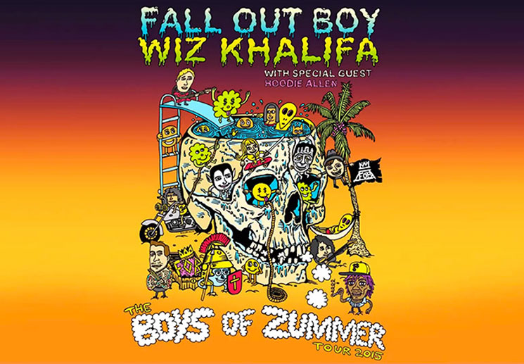 Fall Out Boy and Wiz Khalifa Announce 'The Boys of Zummer' Tour