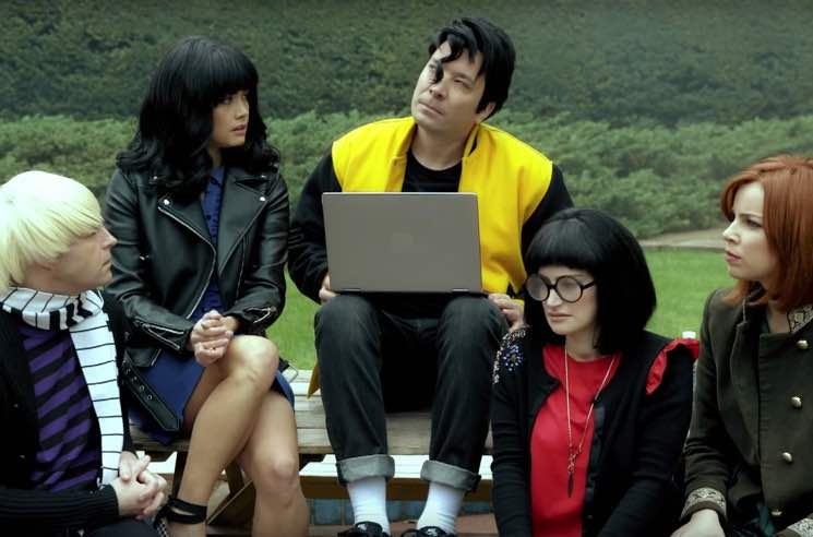 ​Jimmy Fallon Mashes Up 'Riverdale' and 'Peanuts' in New Skit