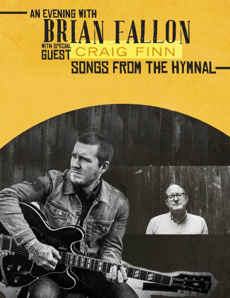 Brian Fallon and Craig Finn Team Up for North American Tour