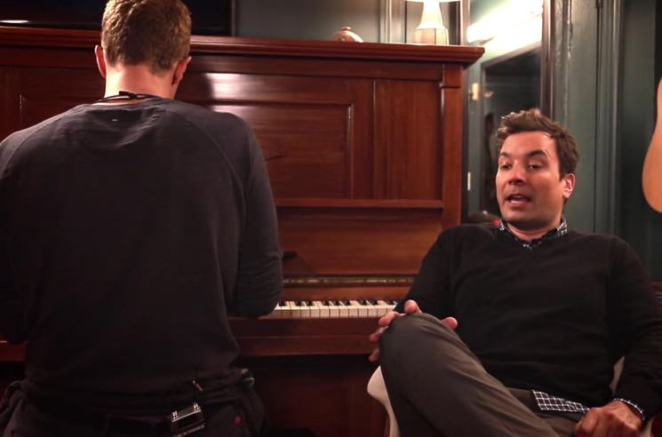 Coldplay's Chris Martin Covers David Bowie's 'Life on Mars?' with Jimmy Fallon