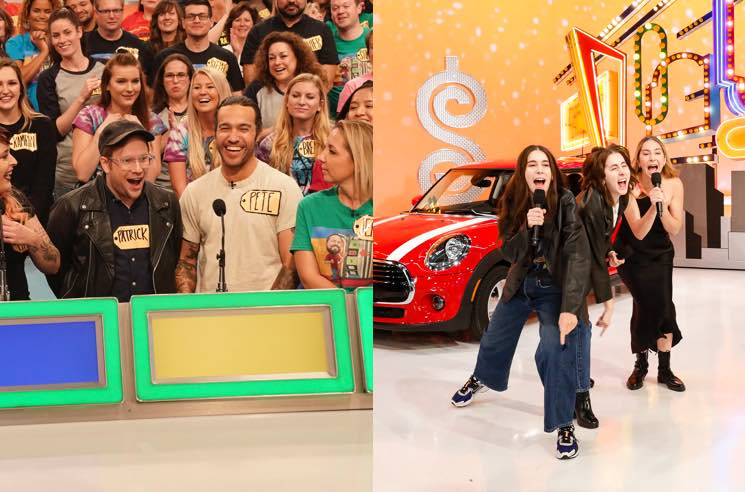 Watch Fall Out Boy and HAIM on 'The Price Is Right'