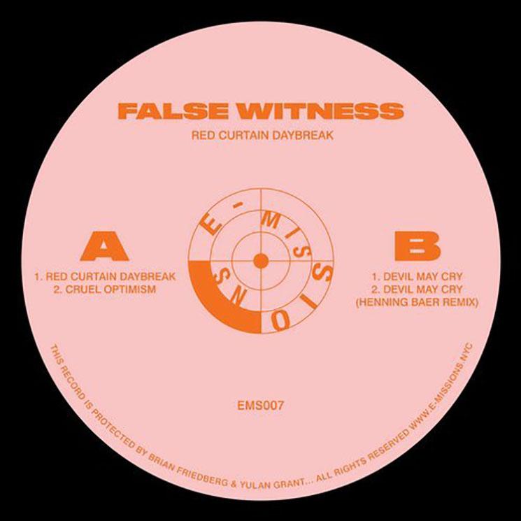 False Witness Red Curtain Daybreak