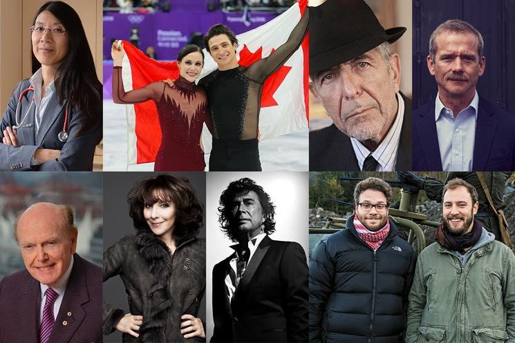 Leonard Cohen, Andy Kim, Seth Rogen Named 2018 Canada's Walk of Fame Inductees