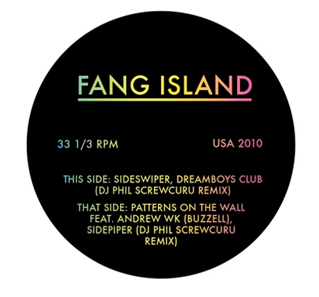 Fang Island Recruit Andrew W.K. for Seven-Inch, Play Toronto and Montreal on North American Tour