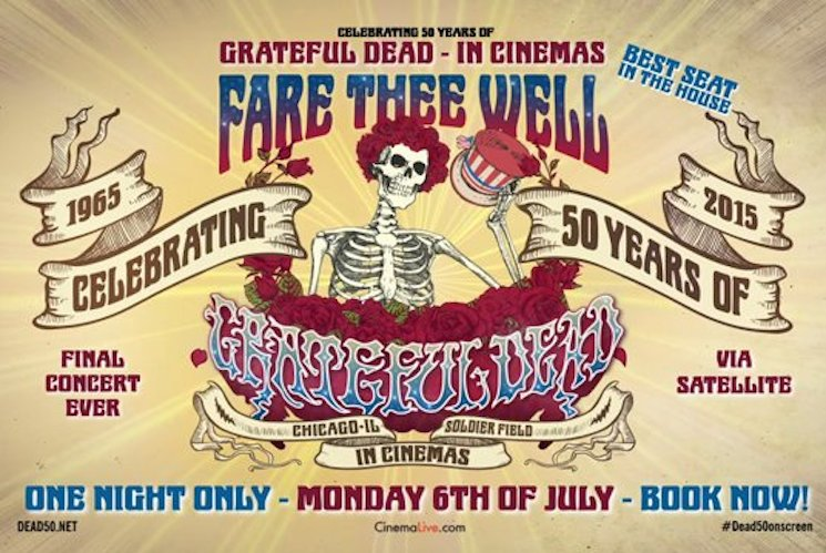 The Grateful Dead to Broadcast Final Concert in Theatres