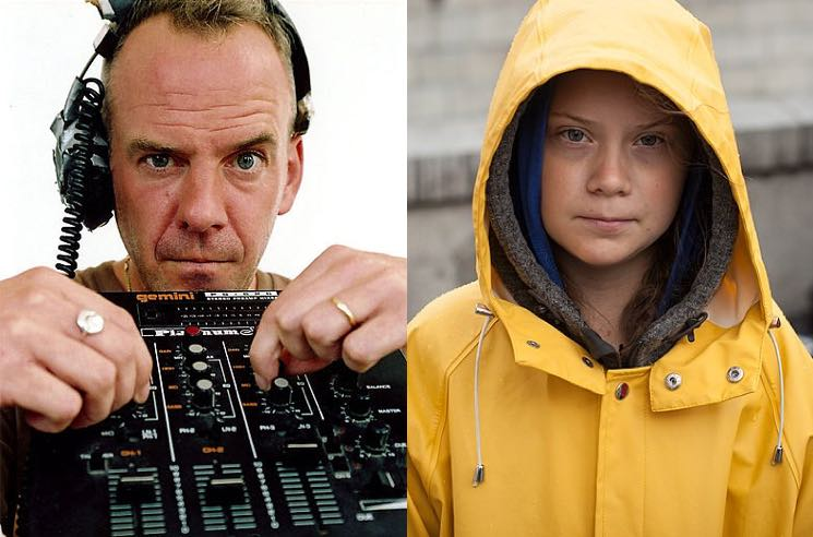 ​Fatboy Slim Sampled Greta Thunberg's UN Speech
