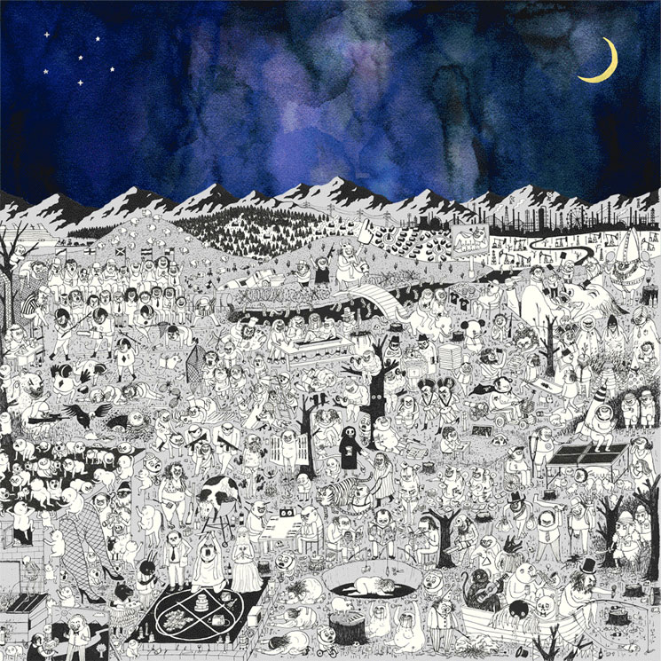 Father John Misty Gets Political with 'Two Wildly Different Perspectives'