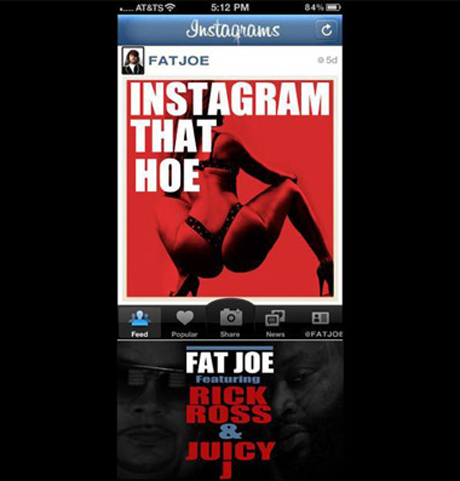 Fat Joe 'Instagram That Hoe' (ft. Rick Ross and Juicy J)
