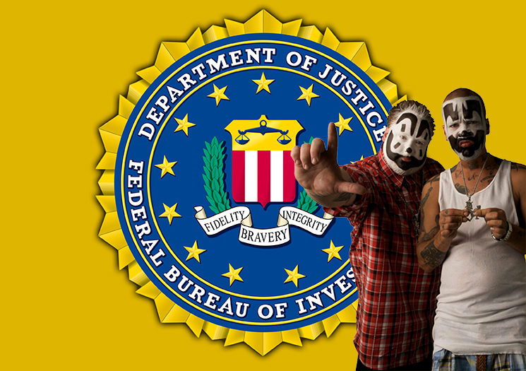 You Can Now Read the FBI's Declassified Report About Insane Clown Posse