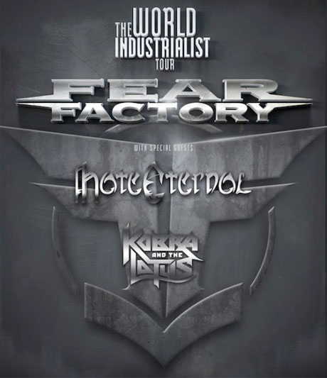 Fear Factory Take 'The Industrialist' on North American Tour with Hate Eternal, Kobra and the Lotus