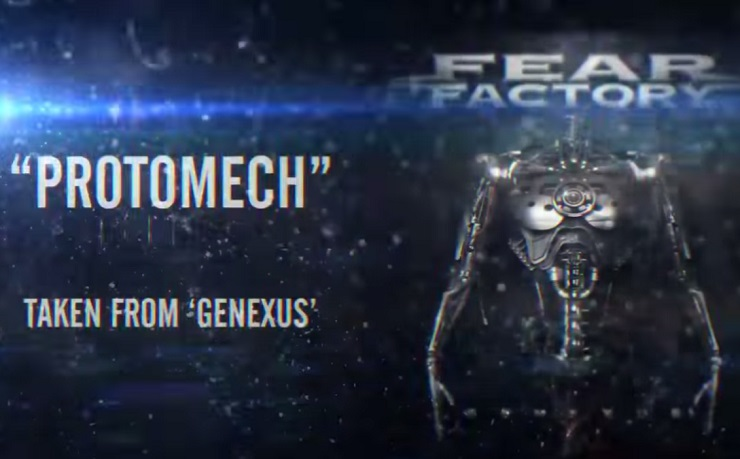 "Fear Factory ""ProtoMech"" (lyric video)"