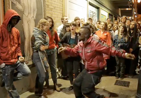 Feist 'Cicadas and Gulls' (ft. Mountain Man and Turf Feinz dance crew) (live video)