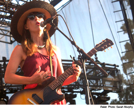 Feist Which Stage, Manchester TN June 8