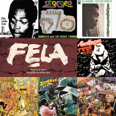 Brian Eno Curates New Fela Kuti Box Set