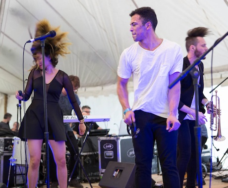 San Fermin Island Stage, Guelph ON, July 26