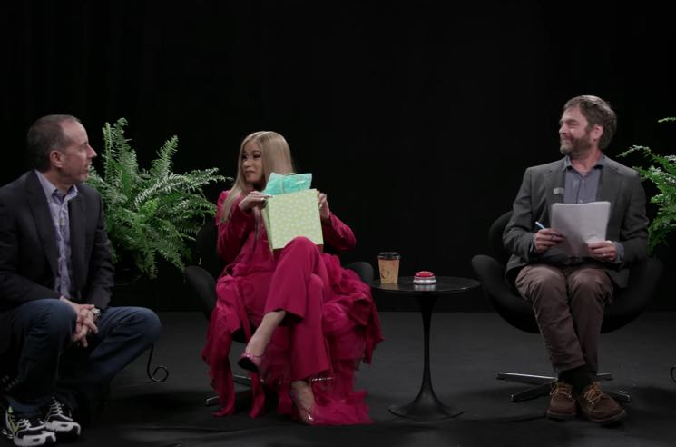​Watch Jerry Seinfeld and Cardi B Join Zach Galifianakis on 'Between Two Ferns'