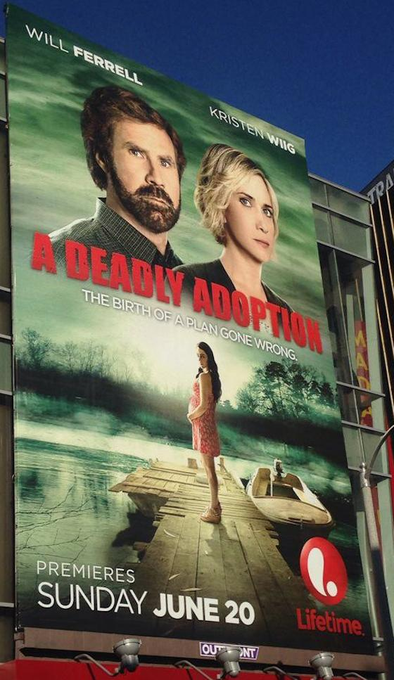 Will Ferrell and Kristen Wiig Team Up for Lifetime Movie 'A Deadly Adoption'