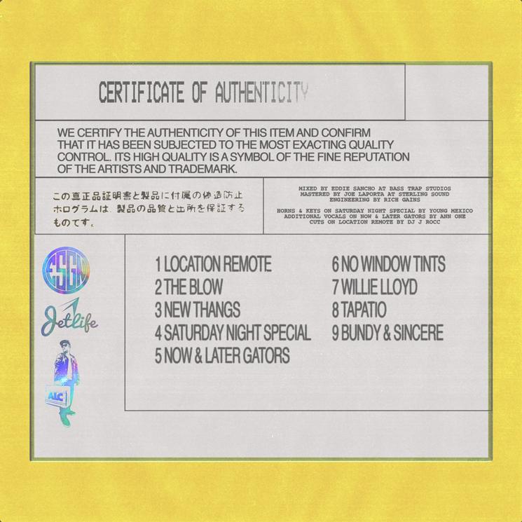 Freddie Gibbs and Curren$y Detail 'Fetti' EP
