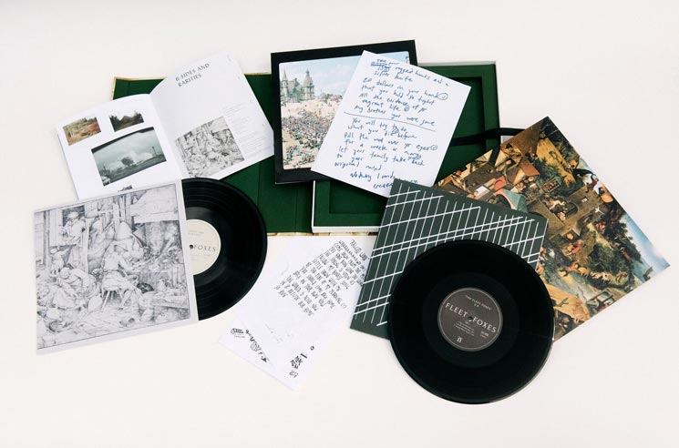 Fleet Foxes Detail 'First Collection 2006-2009' Box Set