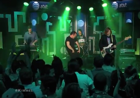 "Future Islands ""Doves"" / ""Spirit"" (live on 'Kimmel')"