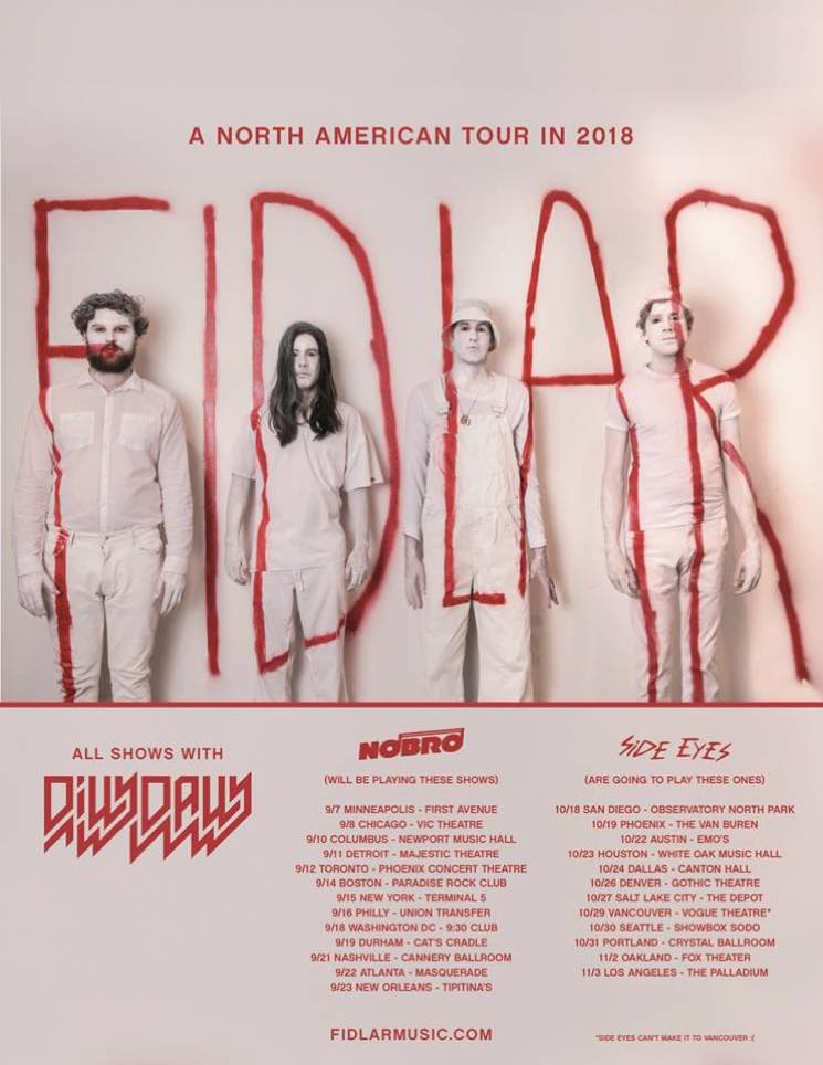 ​FIDLAR and Dilly Dally Team Up for North American Tour