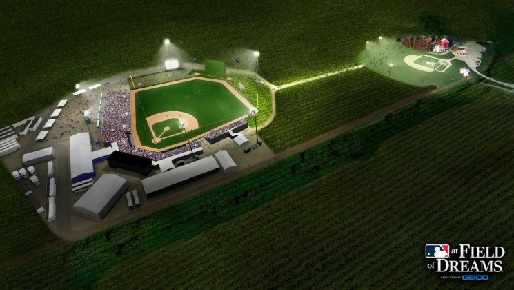 The Yankees Are Playing the White Sox at the Actual 'Field of Dreams' Location
