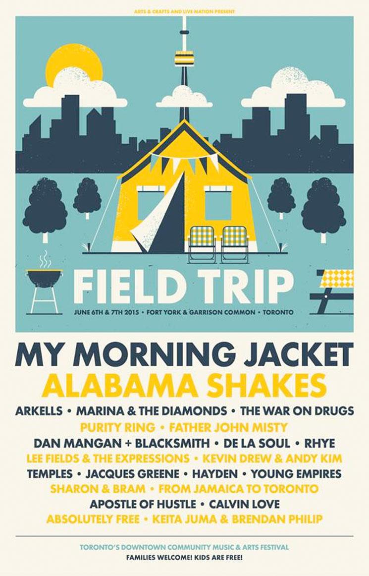 Field Trip Reveals 2015 Lineup