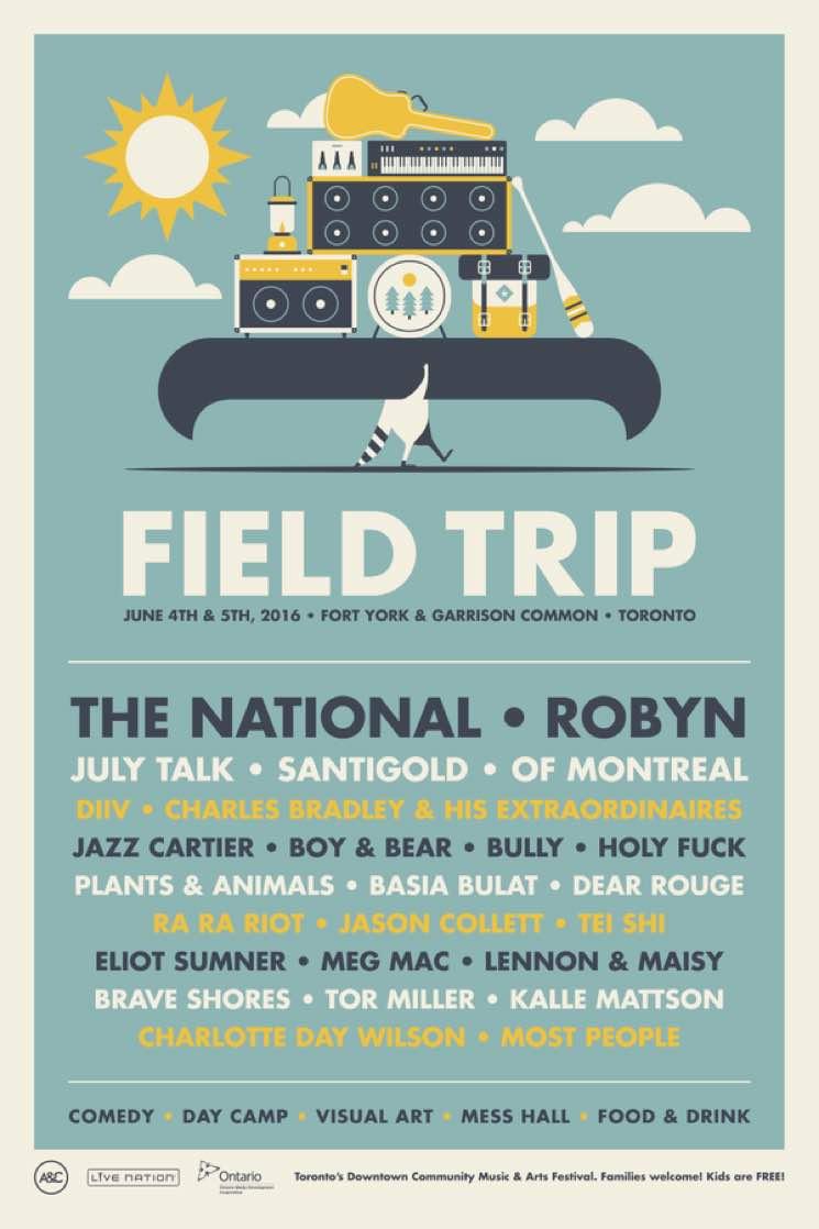 Field Trip Reveals 2016 Lineup