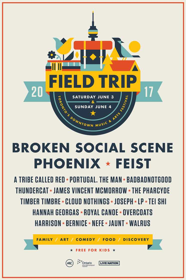 Field Trip Reveals 2017 Lineup with Broken Social Scene, Phoenix, Feist