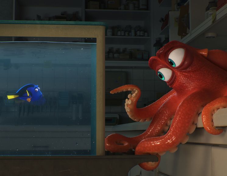 Finding Dory Directed by Andrew Stanton and Angus MacLane