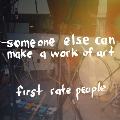 First Rate People Share New EP, Music Video