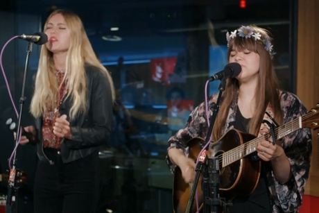 First Aid Kit 'Love Interruption' (Jack White cover) (live in-studio video)