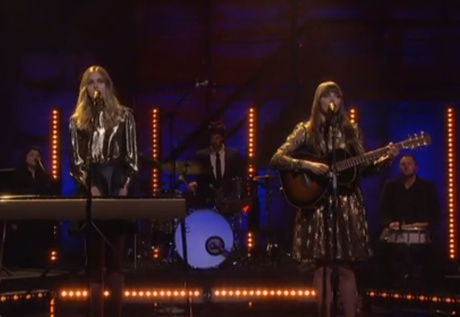 "First Aid Kit ""Stay Gold"" (live on 'Conan')"
