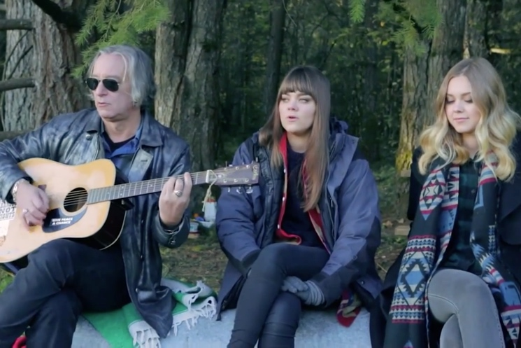 """First Aid Kit """"Walk Unafraid"""" (R.E.M. cover) (acoustic video ft. Peter Buck)"""
