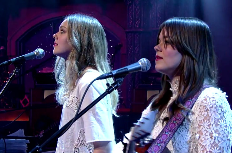 "First Aid Kit ""America"" (Simon & Garfunkel cover) (live on 'Letterman')"
