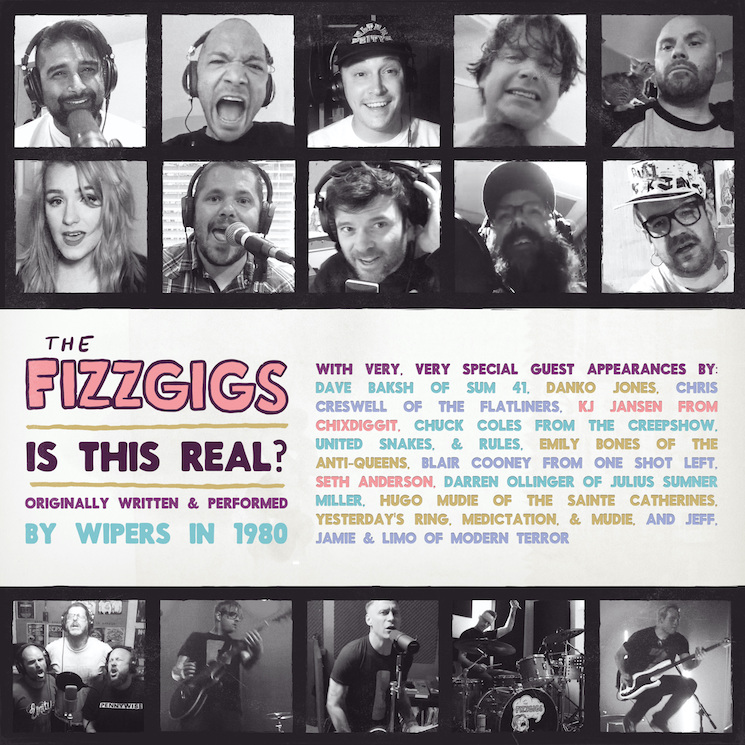 The Fizzgigs Get Members of Sum 41, Chixdiggit, the Flatliners for Kids Help Phone Benefit