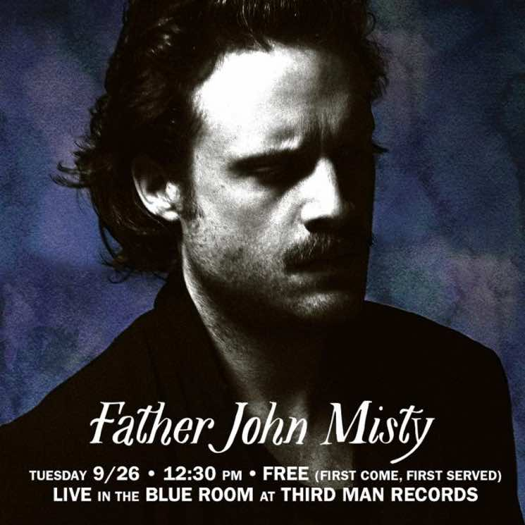​Father John Misty Is Doing a 'Live at Third Man Records' Album