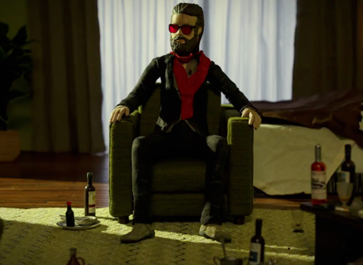 Watch Father John Misty Enter a Claymation Hellscape in His 'Please Don't Die' Video