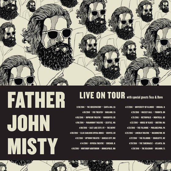 Father John Misty Announces North American Tour