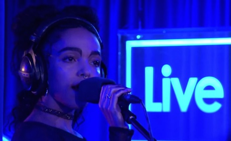 FKA twigs 'Stay With Me' (Sam Smith cover)