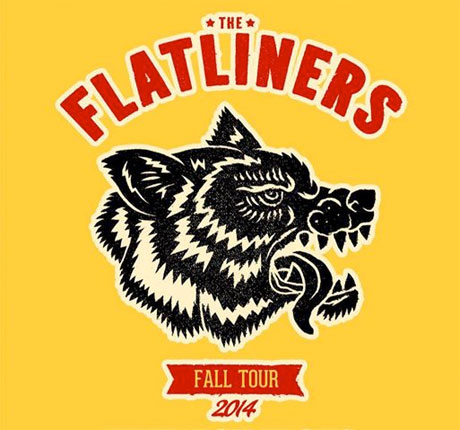 The Flatliners Book North American Fall Tour