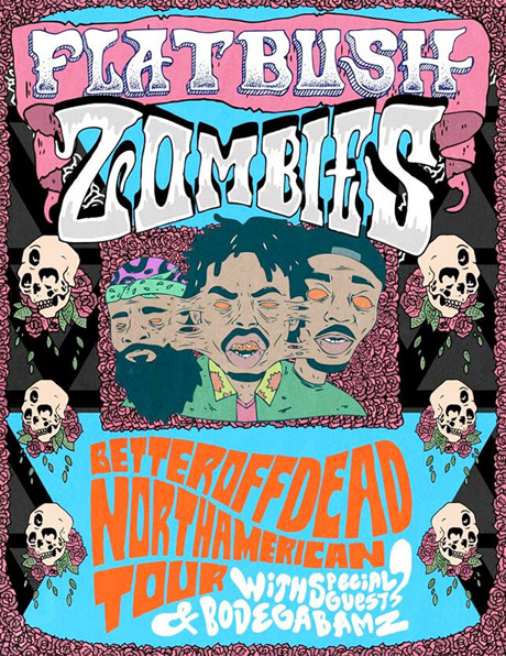 Flatbush Zombies Roll Out 'Better Off Dead' North American Tour