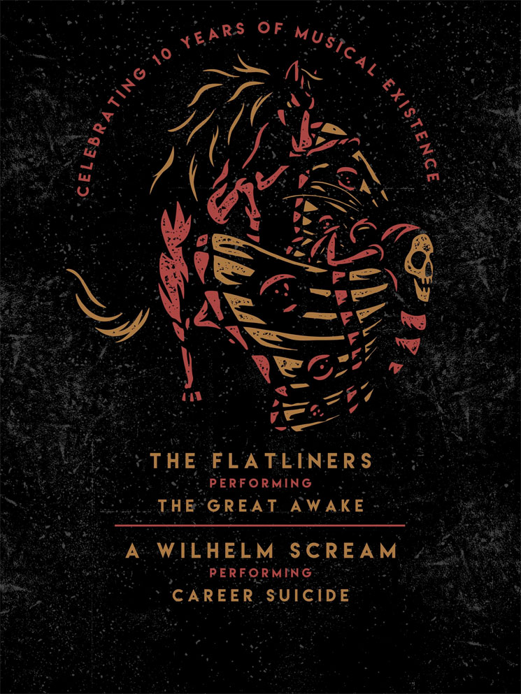 The Flatliners Take 'The Great Awake' on 10th Anniversary Tour