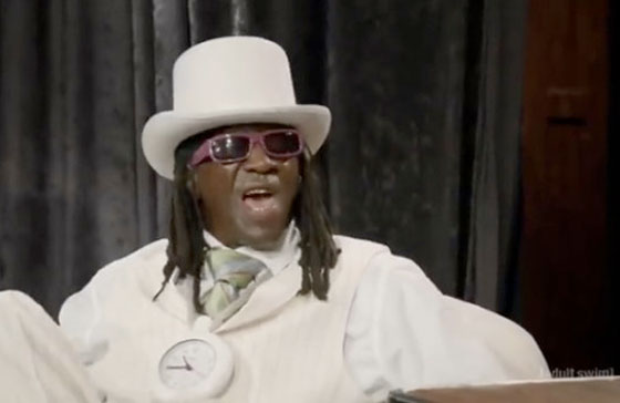 Flavor Flav Gives a Big 'Fuck You' to Eric Andre