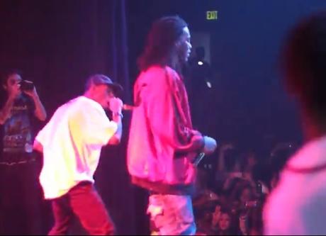 Odd Future Wolf Gang Kill Them All Live with Lil Wayne and Waka Flocka Flame  (video)
