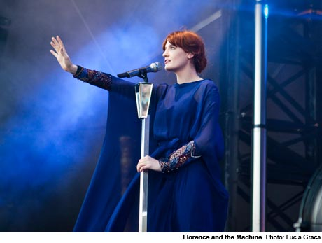 Florence and the Machine Parc Jean-Drapeau, Montreal QC August 3