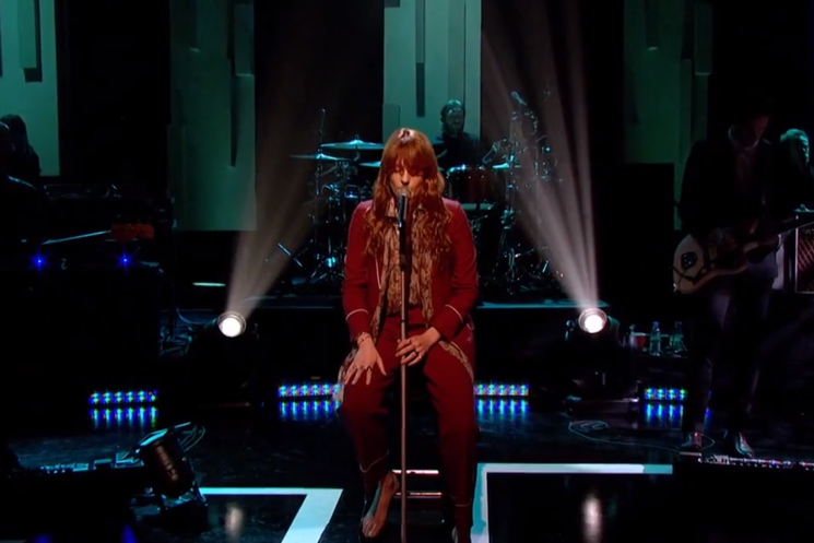 "Florence and the Machine ""What Kind of Man"" (live on 'Jools Holland')"