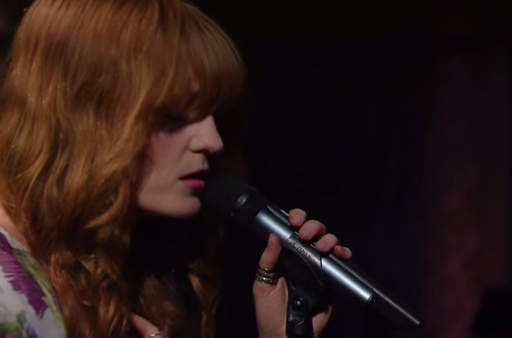 """Florence and the Machine """"What Kind of Man"""" (live on 'Colbert')"""